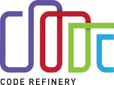 CodeRefinery logo